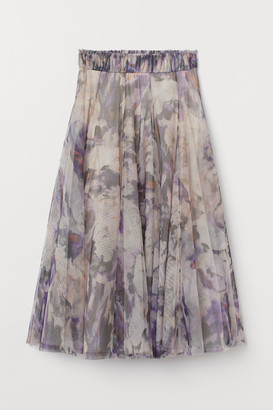 H&M Tulle Circle Skirt - Purple