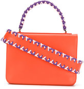 Emilio Pucci braided detail shoulder bag