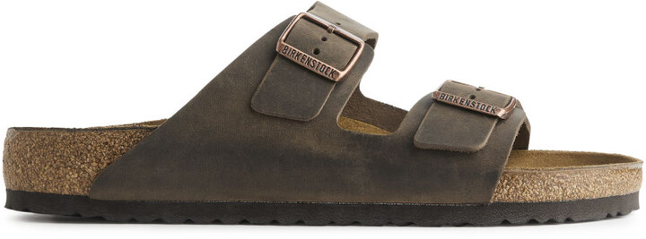 Arket Birkenstock Arizona Oiled Leather Sandals
