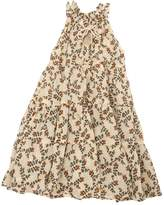 Yvonne S Printed Cotton Voile Maxi Dress