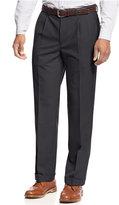 Lauren Ralph Lauren Solid Wool-Blend Pleated Dress Pants