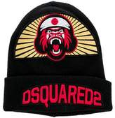 DSQUARED2 Wool Embroidered Beanie