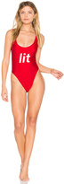 Private Party Lit One Piece Swimsuit