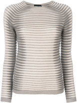 Giorgio Armani ribbed knitted top