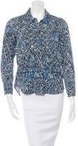 Rachel Comey Patterned Button-Up Top