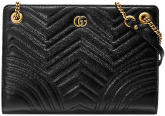 Gucci GG Marmont 2.0 Shoulder Bag in Black | FWRD