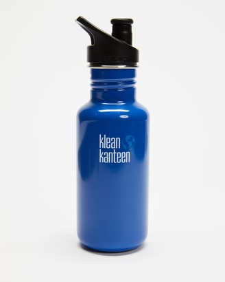 Klean Kanteen Blue Water Bottles - 18oz Classic Sport Cap Bottle - Size One Size at The Iconic