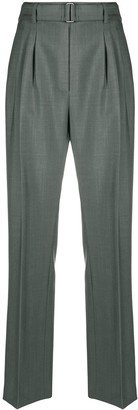 Christian Wijnants High-Rise Pleat Front Trousers