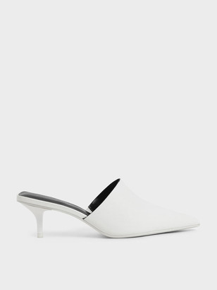 Charles & Keith Pointed Toe Mules