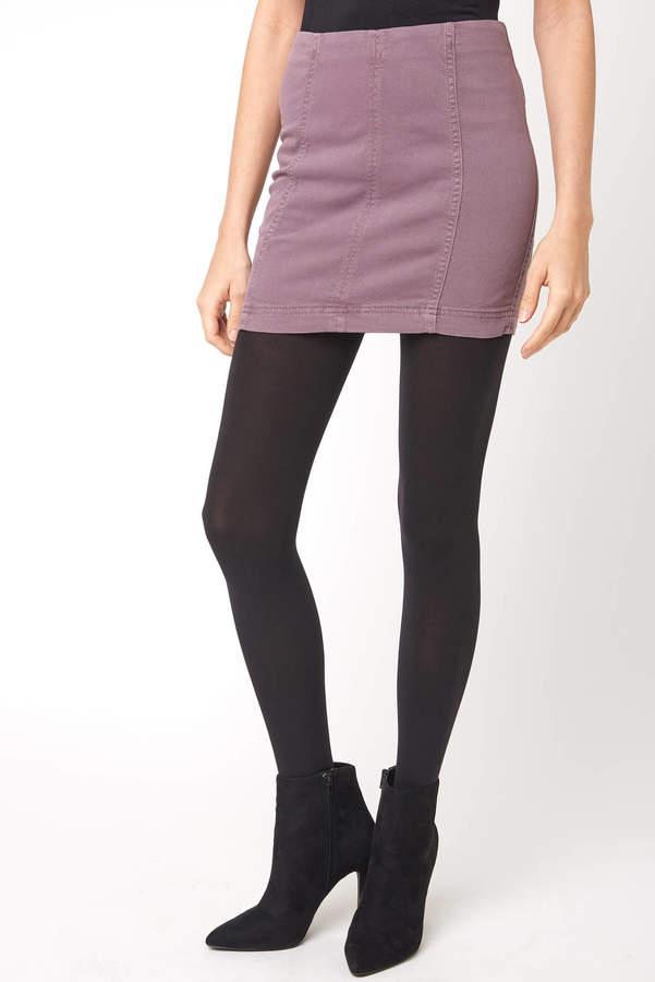 Free People Mulberry Modern Femme Mini Skirt