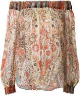Plein Sud Jeans floral print blouse