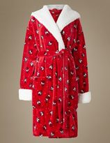 Marks and Spencer Robin Print Dressing Gown