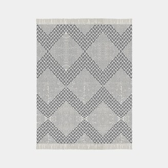 west elm Traced Diamond Rug