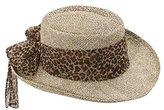 Scala Women's Twisted Seagrass Gambler Hat