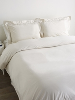 Matteo Washed Cotton Sateen Duvet Set