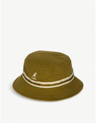 Kangol Lahinch cotton stripe bucket hat