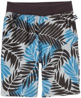 Splendid Printed French Terry Shorts (Toddler/Kid) - Blue-4/5
