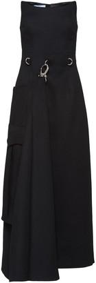 Prada asymmetric sheath dress