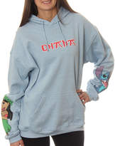 Asstd National Brand Lilo & Stitch Juniors' Ohana Character Sleeves Pullover Graphic Hoodie