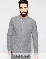 Farah Shirt With Gingham Check Slim Fit Exclusive