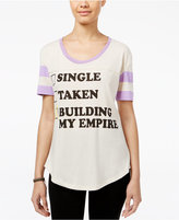 Mighty Fine Juniors' Building My Empire Graphic T-Shirt