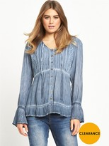 Joe Browns California Soul Blouse - Blue