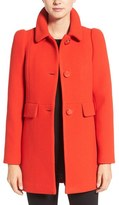 Kate Spade Women's Wool Blend A-Line Coat