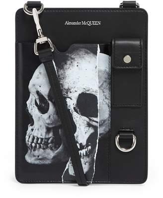 Alexander McQueen Skull Print Cross Body Bag