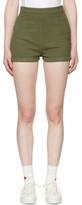 Visvim Green Damaged Priscilla Chino Shorts