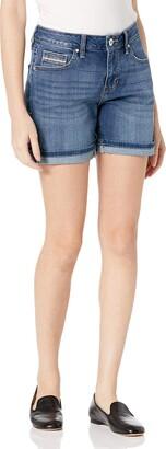 Jag Jeans Women's Petite Alex Boyfriend Short