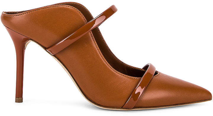 Malone Souliers Maureen MS 85 Heel in Tan | FWRD