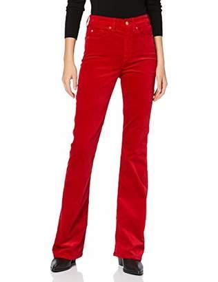 7 For All Mankind Women's Bügel-bh, Softschale, Spitze, Cup C-d Bootcut Jeans,W30/L34 (Size: 30)