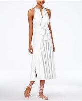 Rachel Roy Claudette Tie-Front Midi Dress, Created for Macy's