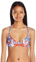 Volcom Women's Liberty V-Neck Bikini Top