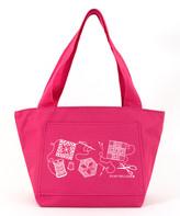 Stuff You Love Totebags Pink - Pink Stitch Happy 'Stuff You Love' Tote
