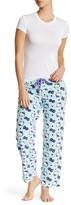 Hello Kitty Printed Plush PJ Bottom