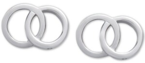 Olivia Burton Double Ring Stud Earrings
