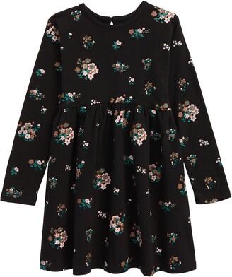 TINY TRIBE Kids' In Bloom Babydoll Dress