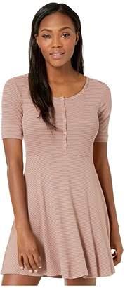 Toad&Co Daisy Rib Long Sleeve Henley Dress