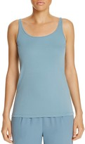 Eileen Fisher Scoop Neck Silk Knit Tank