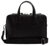 Loewe Goya textured-leather briefcase
