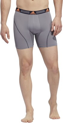 adidas Men's 2-pack Climalite Performance Boxer Briefs