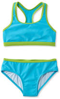 L.L. Bean Girls' BeanSport Racer-Back Bikini