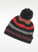Sonia Rykiel Mesh Striped Wool Women's Hat