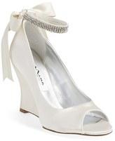 Nina Women's 'Emma' Crystal Embellished Ankle Strap Pump