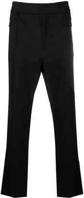 MONCLER GRENOBLE High-Rise Slim-Fit Trousers
