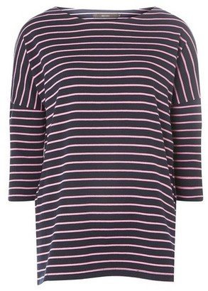 Dorothy Perkins Womens **Vero Moda Pink Striped Top
