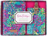 Lilly Pulitzer Passport Cover and Luggage Tag Set (Women) - Lilly's Lagoon
