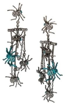 Betsey Johnson Spider Chandelier Earrings