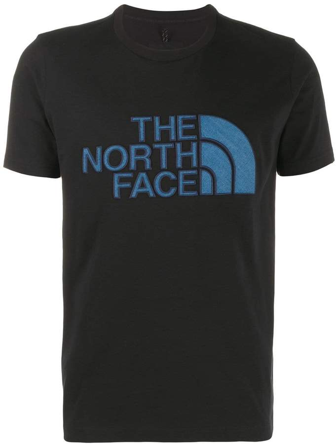 86fced470 Black Label logo patch crew neck T-shirt